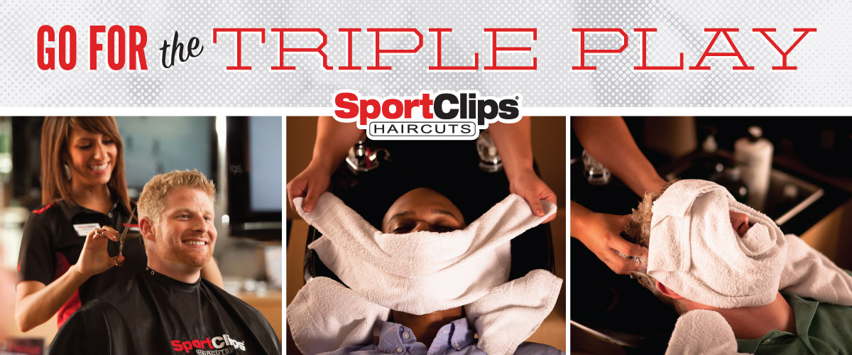 The Sport Clips Haircuts of Jacksonville Harbour Place Triple Play